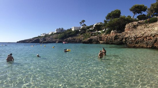 Inturotel Cala Azul Park: Cala Esmeralda - Beautiful, clear, sandy, and warm!
