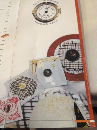 Casa Paca Restaurante: CARTA DE POSTRES