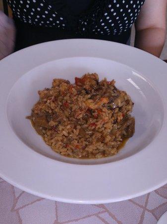 Pau Restaurant : arroz meloso de verduras