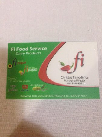 Fi Kitchen & Bar: to help you find the place :)