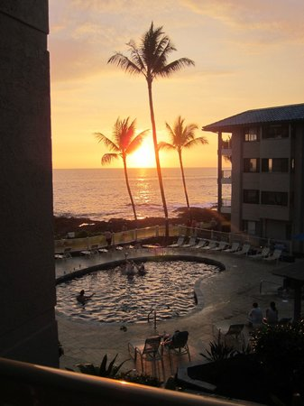 Kona Reef Resort: View from room C21