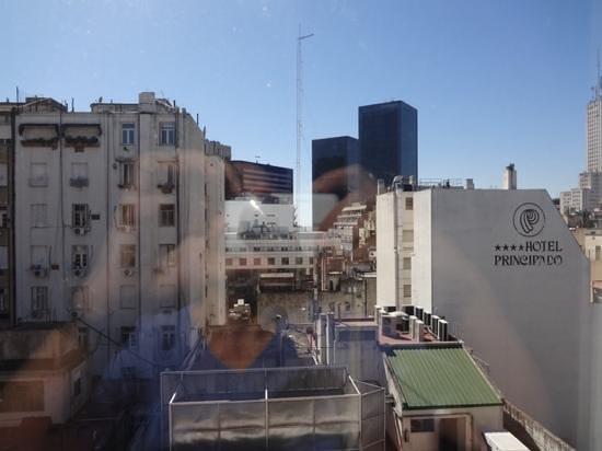Dazzler San Martin: vista da janela