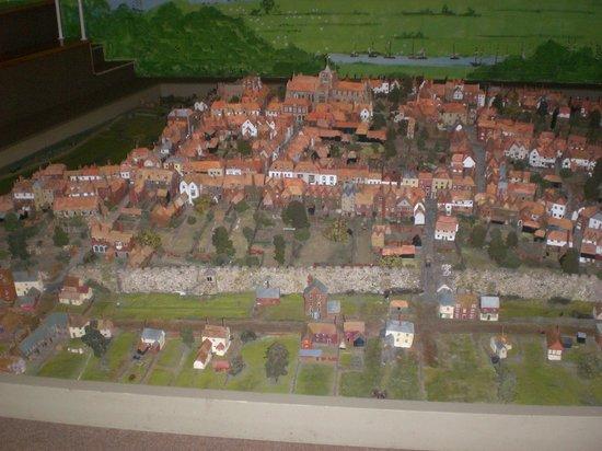 Rye Heritage Centre: Rye model - west