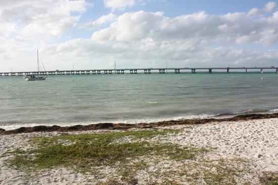 Bahia Honda State Park and Beach: plage côté Nord - Ouest