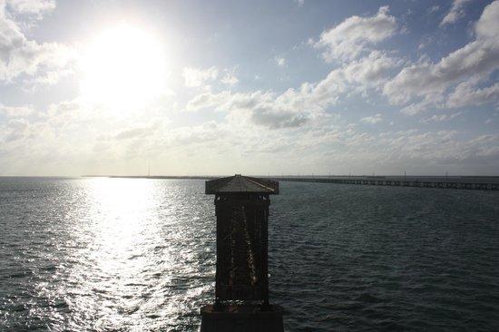 Bahia Honda State Park and Beach: Pont Parallèle cassé