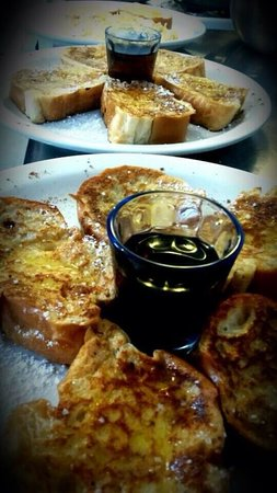 French Toast.  Make sure to try the breakfast at Tropical Guest House.