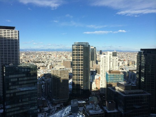Hilton Tokyo: View from our hotel room.
