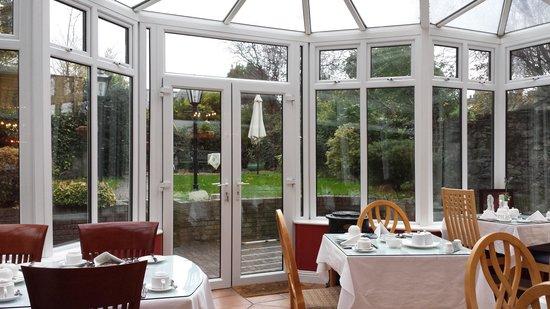 Waterloo House: Breakfast Garden Room