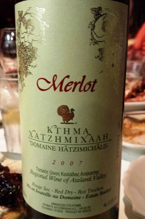 Greek Islands Taverna: Good wine