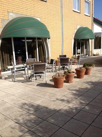 Hotel Greenside: Hotel terrace