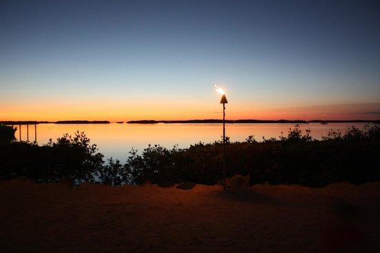 Pierre's: le coucher de soleil