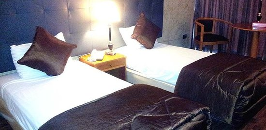 Charles Hotel: twin beds room
