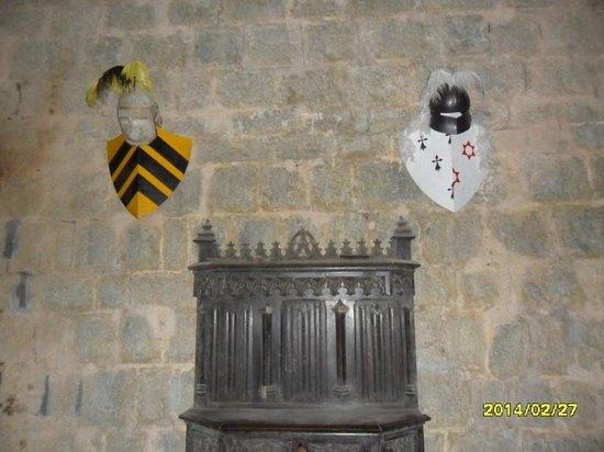 Chateau de Puivert: RESTORED SECTION