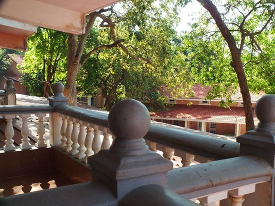 The Byke Heritage - Matheran: view from luxury deluxe near children's pool