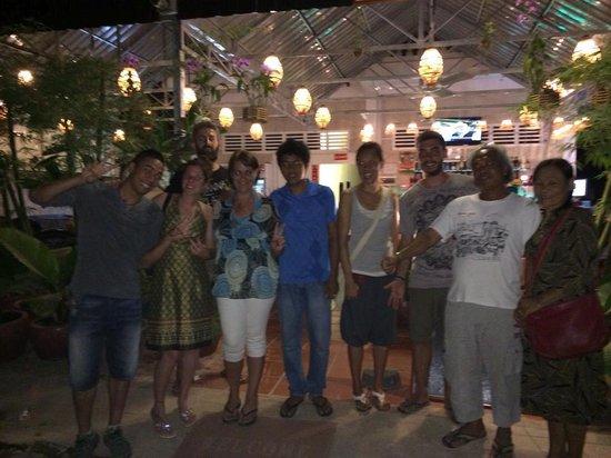 Same Same Backpacker, Siem Riep: Farewell party