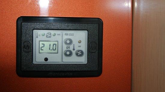 Winter Garden Hotel: управление температоурой