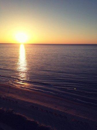 Caribbean Resort And Villas: Sunrise from balcony