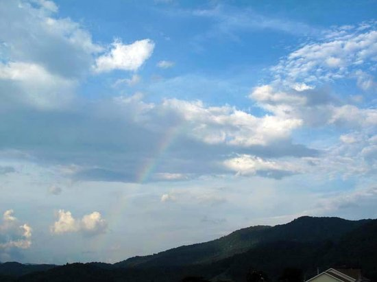 Trails End RV Park : Rainbow over the campground