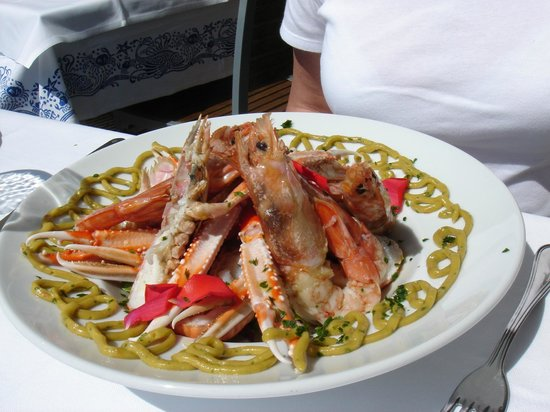 Casa del Mar: Delicious Prawns