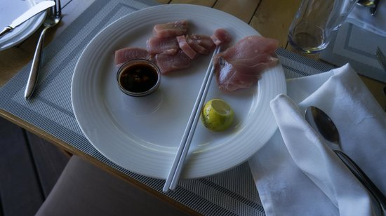 Denis Private Island Seychelles: sashimi