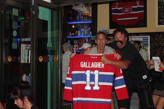 Los Tabernacos Bistro Lounge: George avec Dan,le proprio.