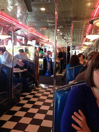 Mel's Classic Diner : Mel's is fun a unique place to eat try to stop in every time we are here. Breakfast or dinner it