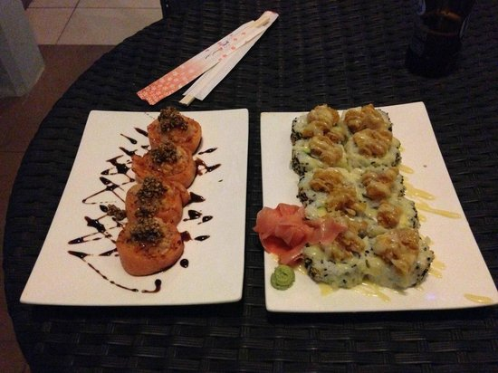 New Premium Rolls @ Rolling Sushi Curacao