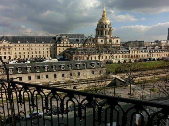 Hotel de l'Empereur : Cathedral des Invalides, Ecole Militaire + le Dome