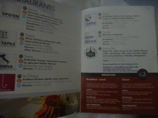 Azul Beach Resort Riviera Cancun: restaurants