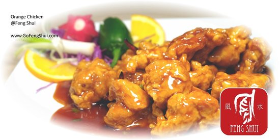 Feng Shui: Orange Chicken - a close sibling of General Gau's Chicken