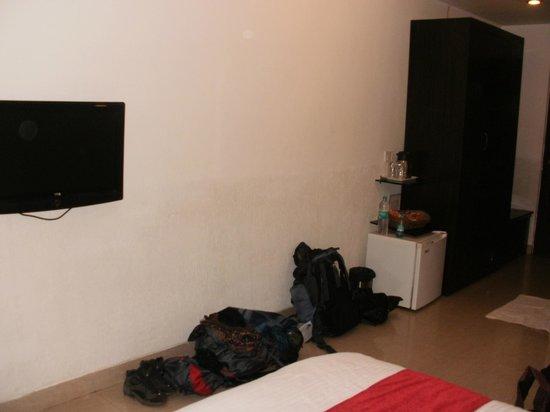 Calangute Grande: Spacious room!