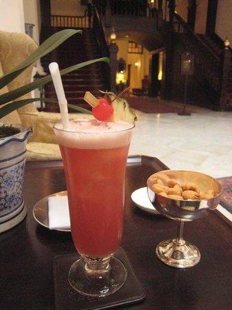 Raffles Hotel Singapore: 絶品のシンガポールスリング