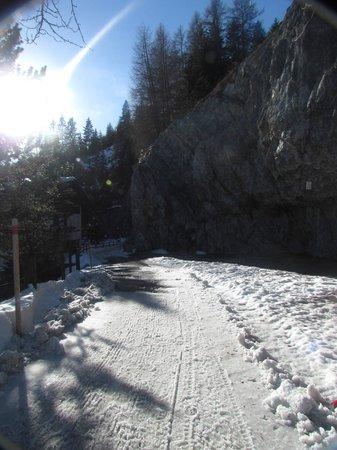 Jugendherberge Davos: Caminho descoberto graças aos funcionários do hostel