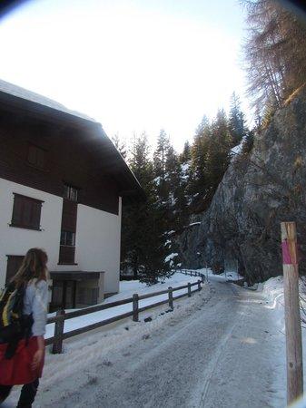 Jugendherberge Davos: Os vizinhos do hostel