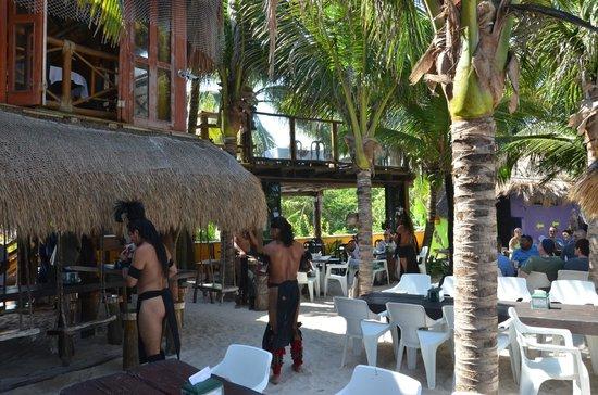 La Buena Vida Restaurant : Apresentação dos Mayas