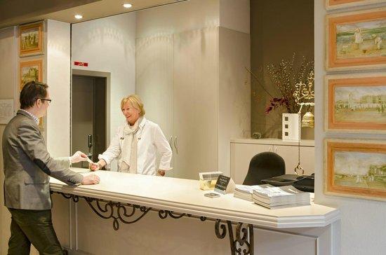 Hotel Prins Boudewijn : receptie