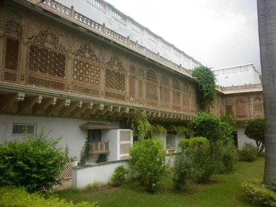 Taj Usha Kiran Palace, Gwalior : Hotel Rooms view from Outside