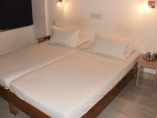 Jaiwana Haveli : Spotless bedings!