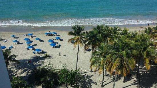 San Juan Water & Beach Club Hotel: view from room 805