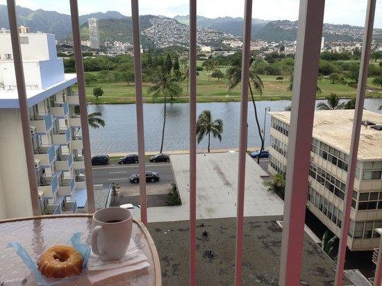 Ilima Hotel: Lanai