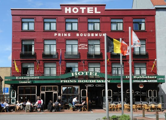 Hotel Prins Boudewijn : Voorgevel