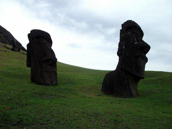 Puna Pau : Mysterious heads