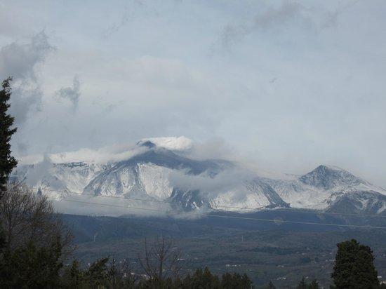 Agriturismo San Leonardello: Panorama dell'Etna