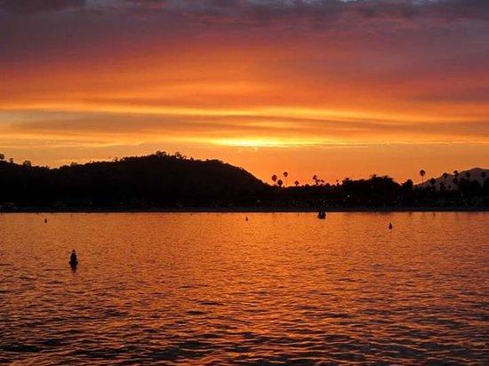 Santa Barbara Shellfish Company: Shellfish at Sunset