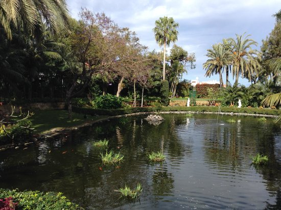 Hotel Botánico & The Oriental Spa Garden: A view from the bridge