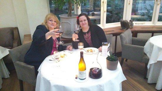 Belmond Le Manoir aux Quat'Saisons : Happy Sisters finally dining at Le Manoir! Wow!