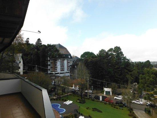 Hotel das Hortensias: Vista do apartamento