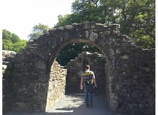 Glendalough Monastic Settlement : Ruins