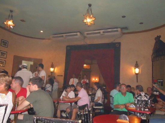 Hotel Saratoga: Floridita bar