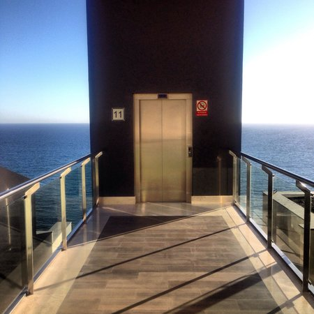 Radisson Blu Resort, Gran Canaria: Snyggaste hissen!?